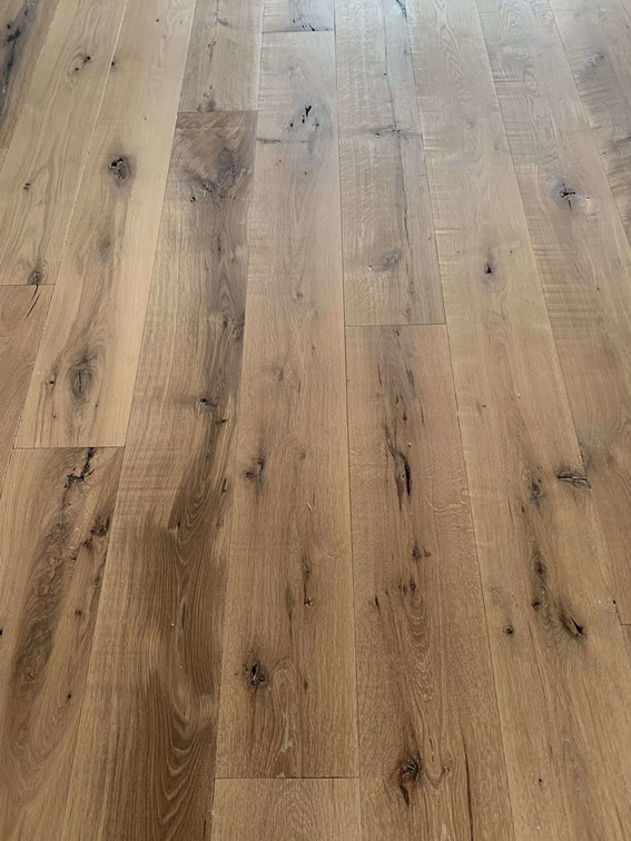 White Oak with Natural Oil Finish