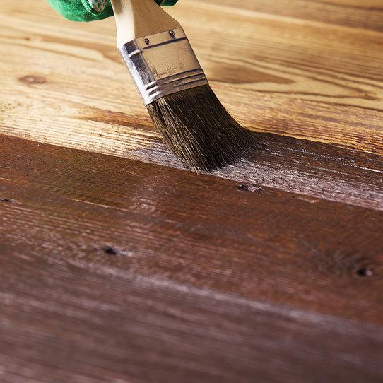 Finishing wood maintenance service