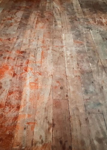 Scuffed Hardwood floors