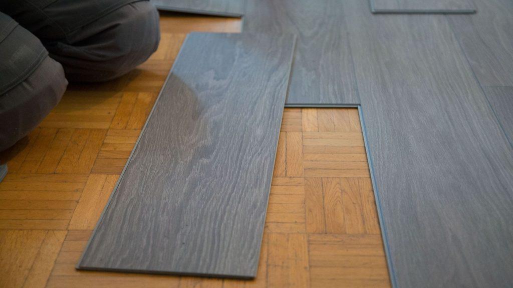Installing of Vinyl Plank Flooring