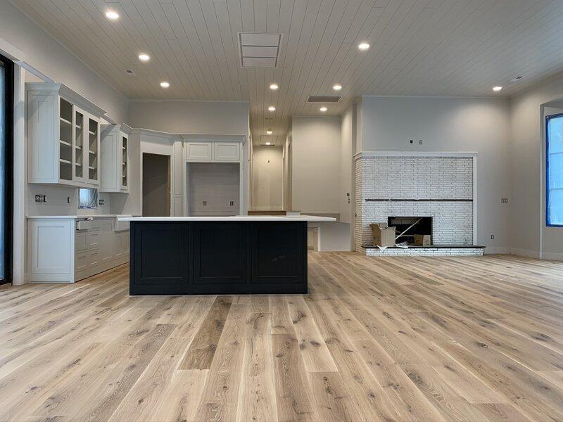 Natural Oil Finished White Oak Floor