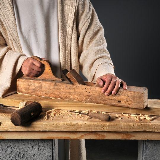Jesus as a carpenter