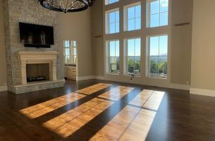White Oak Flooring with Poly Finish Knoxville