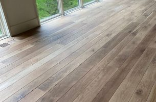 White Oak Flooring at Blackberry Mountain
