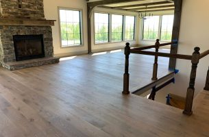 White Oak Flooring with European Oil Finish