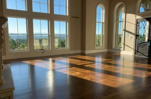 White Oak Flooring in Knoxville with Polyurethane Finish