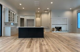 White Oak Floor in Knoxville with Natural Oil Finish