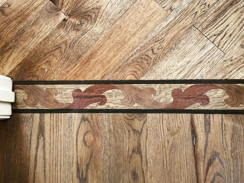 Decorative Wooden Transition inlaid Border