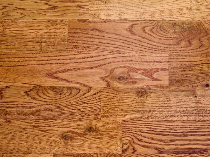 Red Oak Grain Pattern