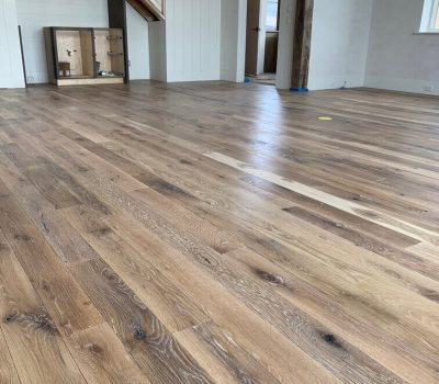 White Oak Flooring with European Oil Finish in Knoxville TN
